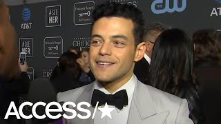 Rami Malek Reacts To His Viral 2019 Golden Globes Moment With Nicole Kidman | Access