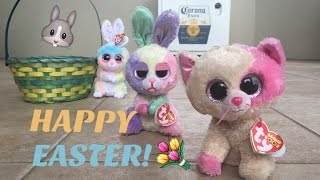 Beanie Boo's: Happy Easter!
