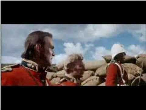 Zulu Film - Men Of Harlech + Final Battle Scene - YouTube