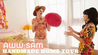 A Quirky New York Apartment Full of Renter-Friendly DIYs - Aww Sam - HGTV Handmade Home Tour