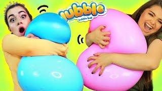 DIY Giant Fluffy Slime Stress Ball!