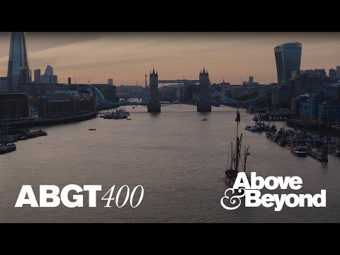 Above & Beyond: Group Therapy 400 live on The River Thames, London (Official Set)