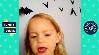 TRY NOT TO LAUGH - FUNNY HALLOWEEN VINES!   Funny Videos October 2018 🎃