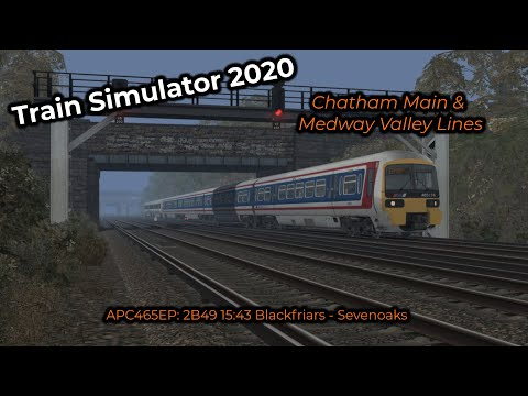 APC465EP: 2B49 15:43 Blackfriars - Sevenoaks