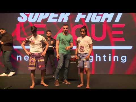 Bengaluru Tigers v/s Goa Pirates | Weigh-ins | Super Fight League
