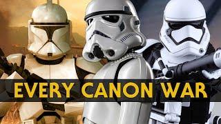 Every War in Star Wars Canon