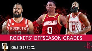 Rockets Offseason Grades: Russell Westbrook Trade & Free Agency Additions Like Tyson Chandler