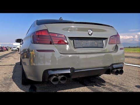 800HP BMW M5 F10 TTH TURBOLADER with Meisterschaft Exhaust!