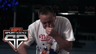 Joey Chestnut And The Science Behind Competitive Eating | Sport Science | ESPN