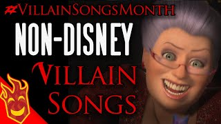 Top Ten Non-Disney Movie Villain Songs