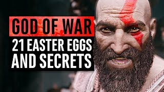 God of War | 21 Easter Eggs and Secrets