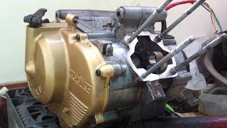 Ráp piston bạc xe 2 thì Suzuki xipo Sport RGV 120