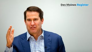 Full video: Seth Moulton meets with the Register's editorial board