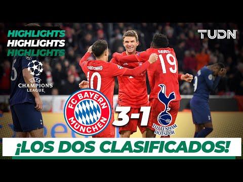 Highlights | Bayern Munich 3 - 1 Tottenham | Champions League - J 6 - Grupo B | TUDN