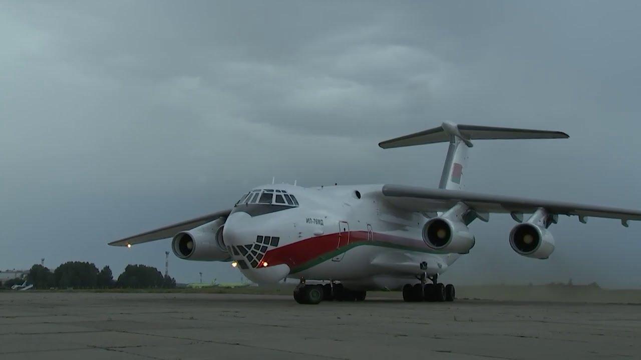 АрМИ-2020. Прибытие белорусских военных в Россию