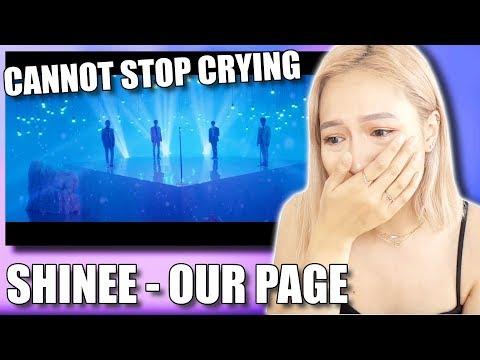 SHINEE (샤이니) 'OUR PAGE (네가 남겨둔 말)' MV REACTION