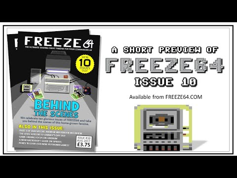 FREEZE64 fanzine issue 10 for the Commodore 64