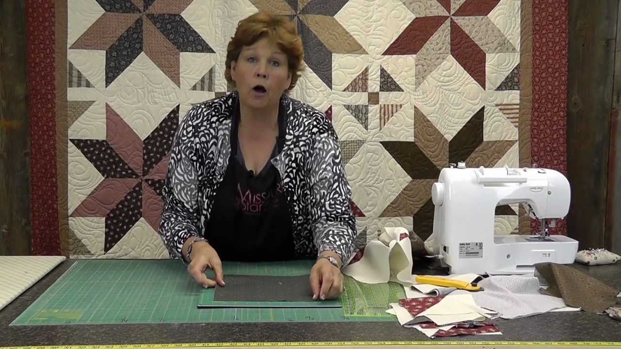 The Big Star Quilt Quilting Made Easy Youtube