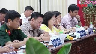 Bí thư Tỉnh uỷ Phạm Viết Thanh làm việc với lãnh đạo huyện Châu Thành và Bến Cầu