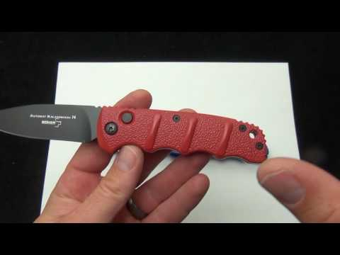 Red and Blue Boker Kalashnikov Knives
