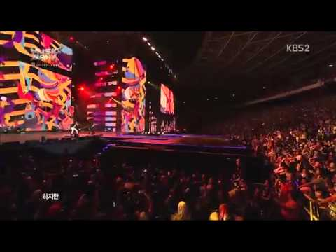 130319 S4 & TEEN TOP - No More Perfume On You + She is my girl Music Bank in Jakarta