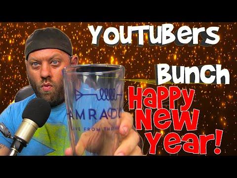 Happy New Year 2021!  Ham Radio YouTubers Bunch Livestream