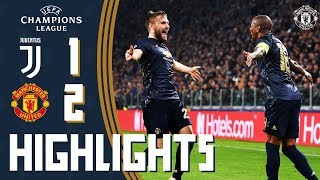 Highlights | Juventus 1-2 Manchester United | Mata freekick inspires late comeback victory!
