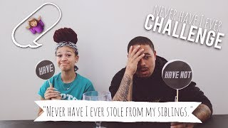 Never Have I Ever Challenge With My Sister MightyNiecy! | MIGHTYDUCK