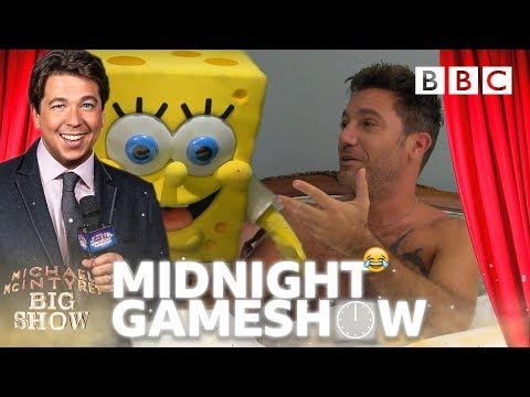 Gino D'Acampo HORRIFIED 😱 by Michael and Spongebob's RUDE awakening! - BBC