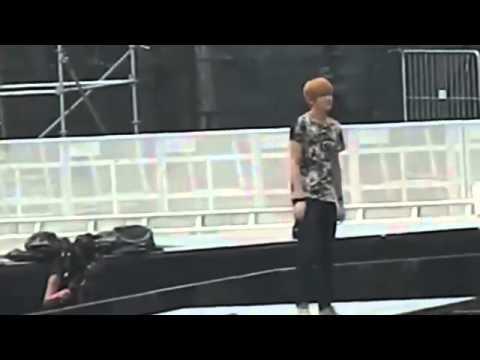 121122 rehearsal EXO Kris Amber Key - Like A G6 @ SMTOWN Singapore 엑소 EXO f(x) SHINee SJ TVXQ