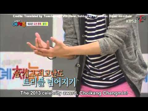 [Eng Subs] 130507 CKOTB Changmin Cut:
