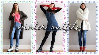 cute & casual winter outfit ideas!!