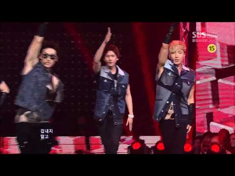 120729 SBS人氣歌謠 Super Junior - Sexy, Free & Single