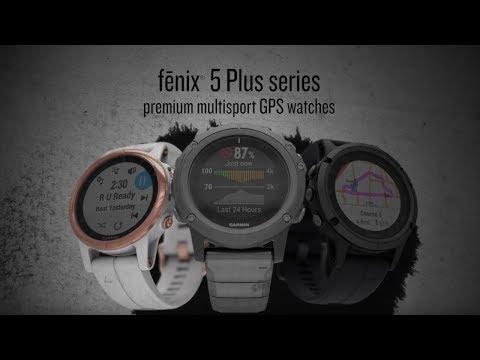 fēnix® 5 Plus - die GPS-Multisport-Smartwatch
