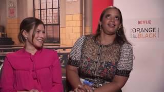 OITNB Entrevista Temp 4 (Subs Español) Yael Stone y Dascha Polanco
