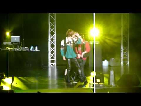 120615 SHINee @ Boyz Nite Out - Sherlock (Ontae focused) [HD]