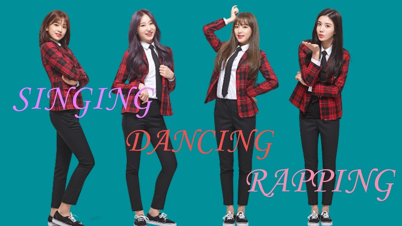 IZONE ALL ROUNDERS (Singing, Dancing and Rapping)
