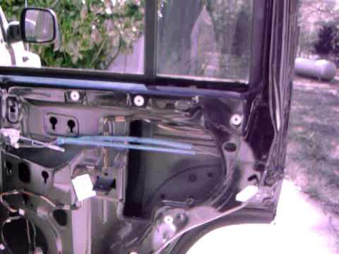 Jeep Liberty Window Regulator Youtube