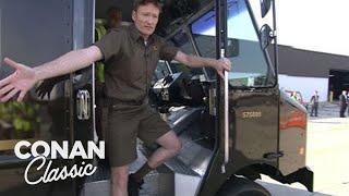 Conan Becomes A UPS Deliveryman -
