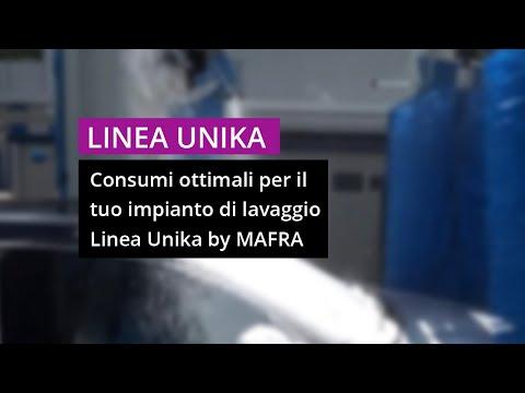 Livello consumi ottimali autolavaggio – Prodotti per lavaggio auto LINEA UNIKA Mafra