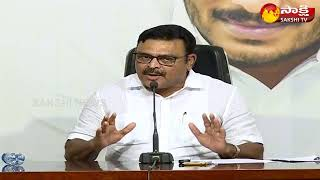Press Meet Live- Ambati Rambabu Slams Chandrababu- Tadepal..
