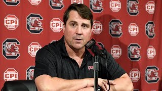 Will Muschamp Weekly News Conference — 10/23/18