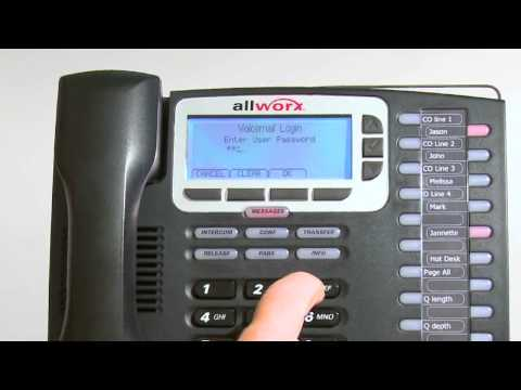 Telephone Overview - Allworx End User Training.mp4