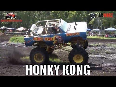 HONKY KONG Mega Truck At Perkins Summer Sling Mud Bog 2018