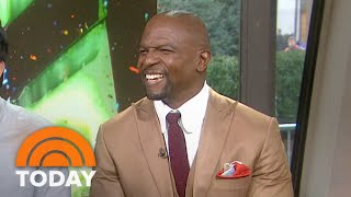 Terry Crews Reenacts 'White Chicks A Thousand Miles' Scene | TODAY