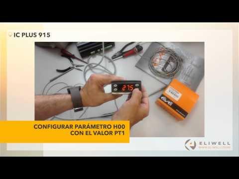 Eliwell - Cómo cambiar una sonda TCJ por una PT100 - EliwellStore