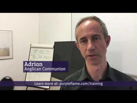 Purple Flame Media iPhone charity video training