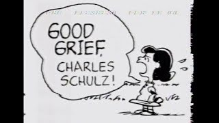 Good Grief!: Charles Schulz & the Impact of Peanuts - ABC News Nightline - 2/11/2000