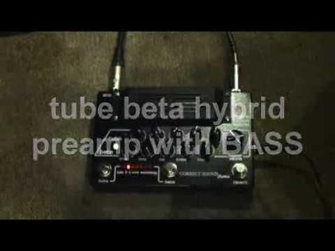 Demo tube beta hybrid with bass