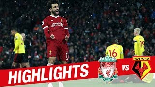 Highlights: Liverpool v Watford | Sensational Salah scores four at Anfield